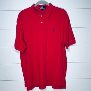 POLO Ralph Lauren Red Button Down Shirt